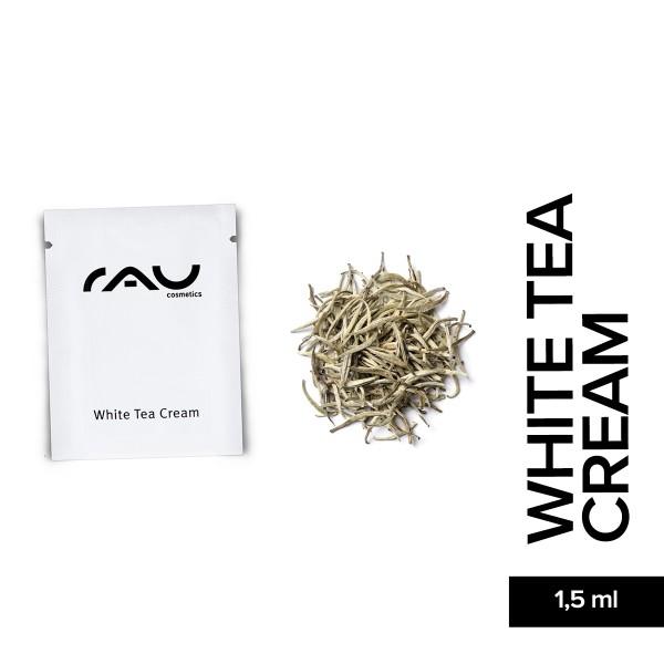 RAU White Tea Cream 1,5 ml Hautpflege Weißer Tee Anti Aging Naturkosmetik Onlineshop