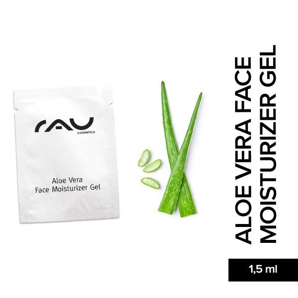 RAU Aloe Vera Face Moisturizer Gel 1,5 ml Gesichtspflege Naturkosmetik Onlineshop