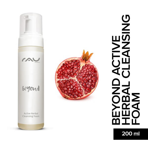 RAU beyond Active Herbal Cleansing Foam 200 ml Hautpflege Gesichtspflege Naturkosmetik Onlineshop