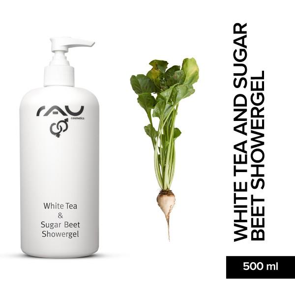 RAU White Tea And Sugar Beet Showergel 500 ml Body Pflege Körperpflege Onlineshop Naturkosmetik