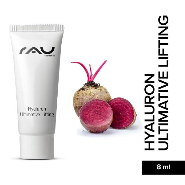 RAU Hyaluron Ultimative Lifting 8 ml Hyaluronsäure Konzentrat Gel Naturkosmetik Onlineshop Hautpflege