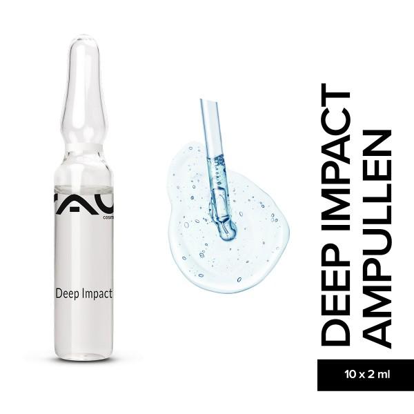 RAU Deep Impact Ampullen 10 x 2 ml Hautpflege Gesichtspflege Naturkosmetik Onlineshop