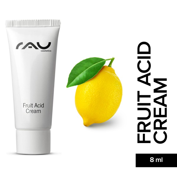 RAU Fruit Acid Cream 8 ml Hautpflege Gesichtspflege Onlineshop Naturkosmetik