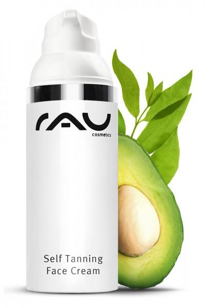 RAU Self Tanning Face Cream 50 ml - Selbstbräuner mit UV-Schutz