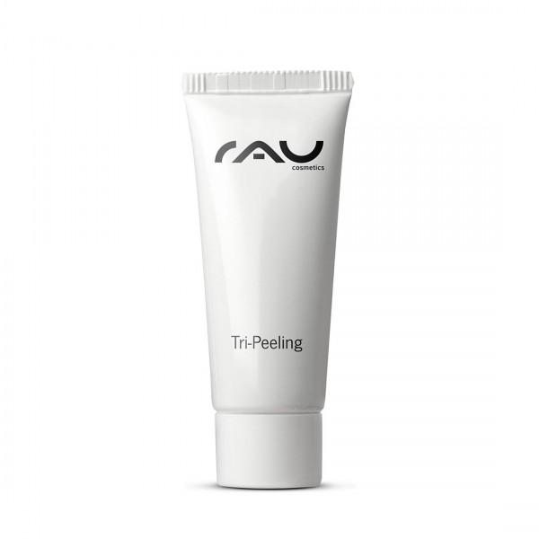 RAU Tri-Peeling 8 ml - 3-fach Wirkung - Enzympeeling u. Fruchtsäurepeeling mit Papaya, Weisser Tee