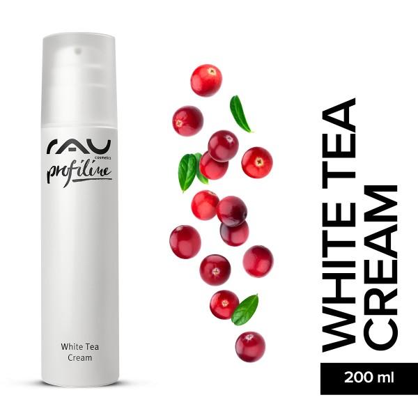 RAU White Tea Cream 200 ml Profiline Hautpflege Gesichtspflege Naturkosmetik Onlineshop