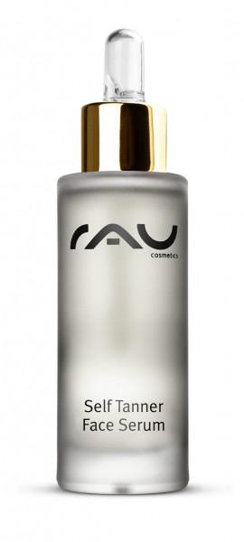 RAU Self Tanner Face Serum 30 ml - Natürliches Selbstbräuner Serum für das Gesicht