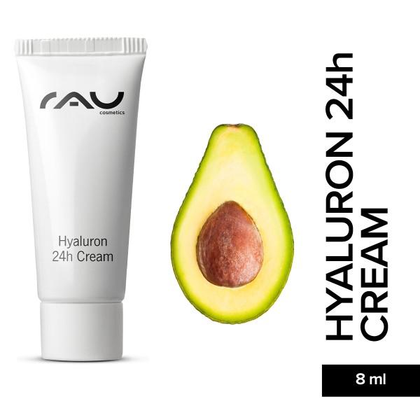 RAU Hyaluron 24h Cream 8 ml Naturkosmetik Onlineshop Hautpflege Gesichtspflege