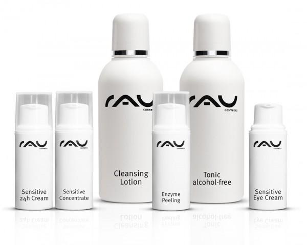 RAU Cosmetics Schnupper-Set - Sensitive - Pröbchenmix zum Reinschnuppern