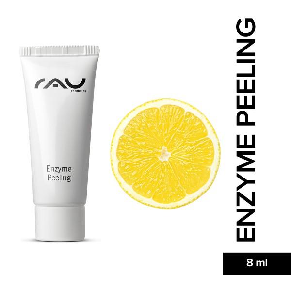 RAU Enzyme Peeling 8 ml Hautpflege Gesichtspflege Naturkosmetik Onlineshop