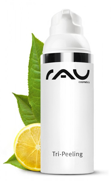 RAU Tri-Peeling 50 ml - Enzym- und Fruchtsäurepeeling mit Papaya & Weißem Tee