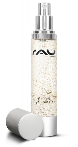 RAU Golden Hyaluron Gel 50 ml - luxuriöses Anti-Aging-Gel mit 23kt Gold & Hyaluronsäure