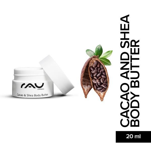 RAU Cacao And Shea Body Butter 20 ml Hautpflege Gesichtspflege Naturkosmetik Onlineshop