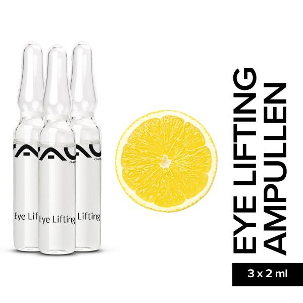 RAU Eye Lifting Ampullen 3 x 2 ml Hautpflege Gesichtspflege Naturkosmetik Onlineshop