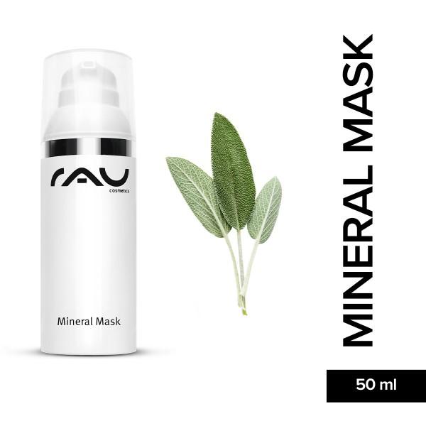 RAU Mineral Mask 50 ml Mattierende Gesichtsmaske Hautpflege Onlineshop Naturkosmetik