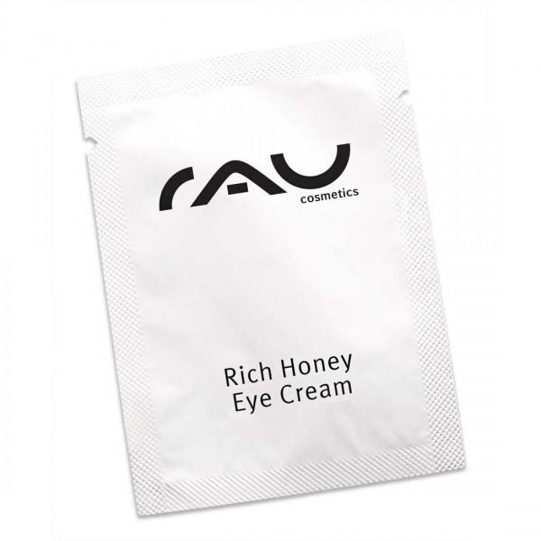 RAU Rich Honey Eye Cream 1,5 ml - für eine frische und strahlende Augenpartie in jedem Alter!