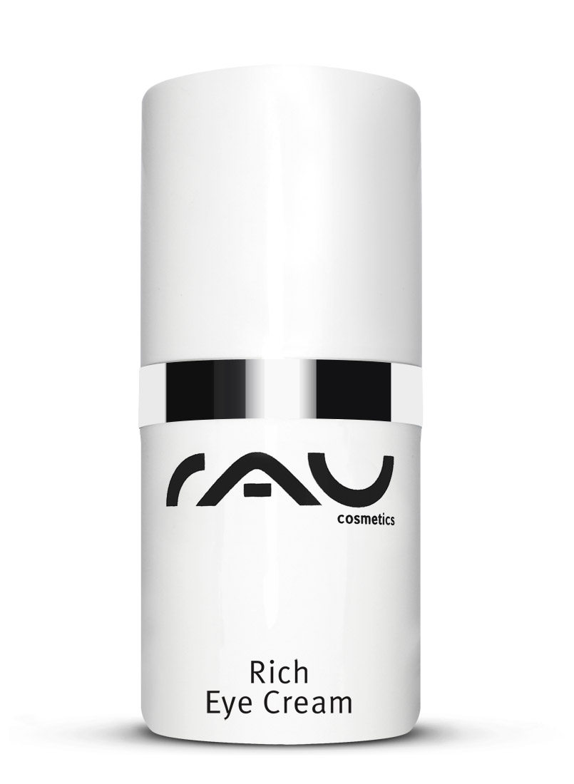 rau rich eye cream effektive augencreme mit aloe vera f r trockene haut rau cosmetics. Black Bedroom Furniture Sets. Home Design Ideas