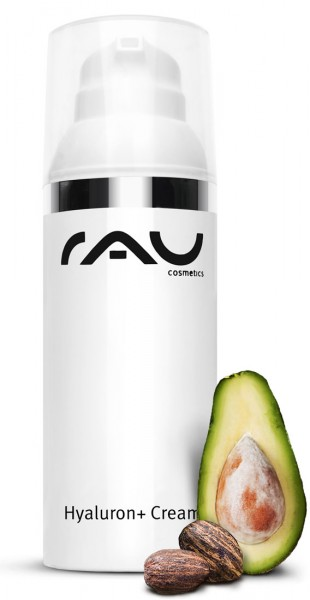 RAU Hyaluron + Cream LSF 6 - 50 ml mit UV-Filter