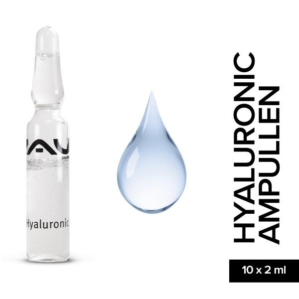 RAU Hyaluronic Ampullen 10 x 2 ml Hautpflege Gesichtspflege Naturkosmetik Onlineshop