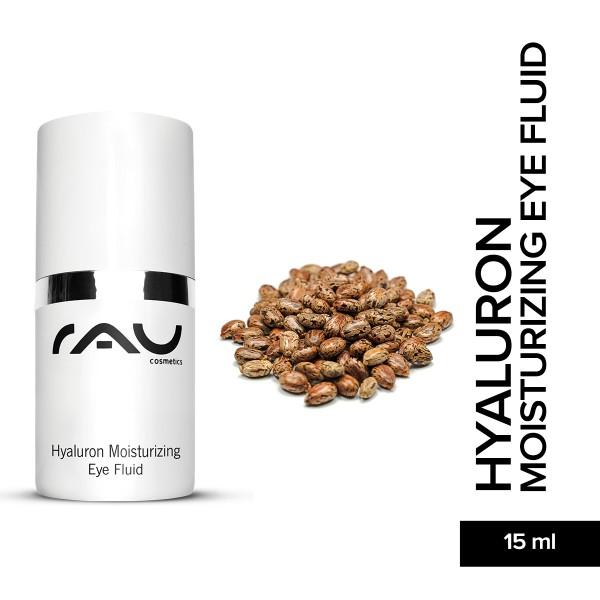RAU Hayluron Moisturizing Eye Fluid 15 ml Augenpflege Hautpflege Naturkosmetik Onlineshop
