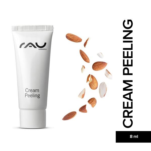 RAU Cream Peeling 8 ml Hautpflege Gesichtspflege Naturkosmetik Onlineshop