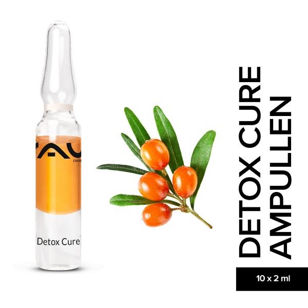 RAU Detox Cure Ampullen 10 x 2 ml Entgiftung Hautpflege Naturkosmetik Onlineshop
