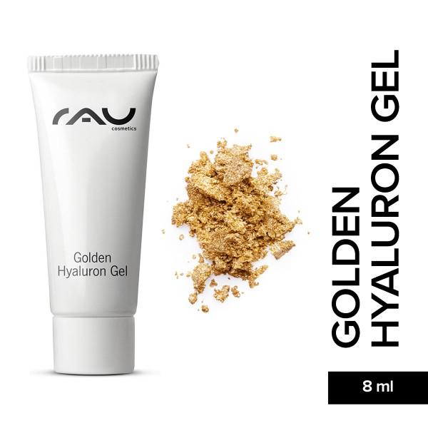 RAU Golden Hyaluron Gel 8 ml Hautpflege Gesichtspflege Naturkosmetik Onlineshop