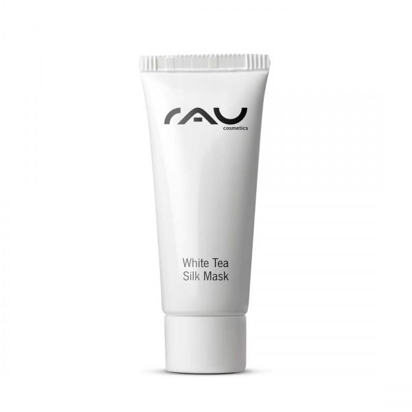 RAU White Tea Silk Mask 8 ml - Gesichtsmaske mit Seidenproteinen & Weißem Tee