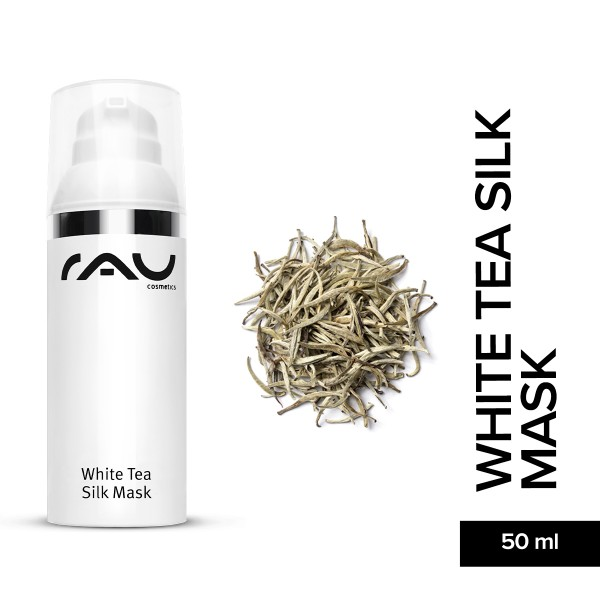 RAU White Tea Silk Mask 50 ml Hautpflege Gesichtspflege Naturkosmetik Onlineshop