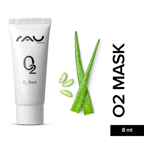 RAU O2 Mask 8 ml Gesichtsmaske Aloe Vera Hautpflege Gesichtspflege Naturkosmetik Onlineshop