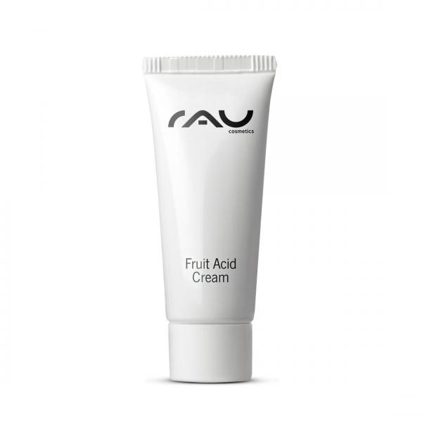 RAU Fruit Acid Cream 8 ml - mit Fruchtsäuren, Hyaluronsäure, Vitaminen & wertvollen Pflanzenölen
