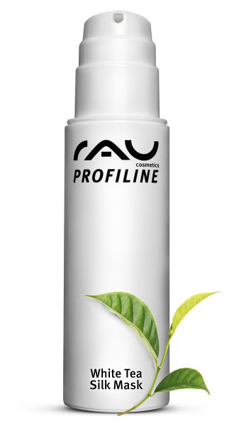 RAU White Tea Silk Mask 150 ml PROFILINE - Kabinenware - Gesichtsmaske mit Seidenproteinen