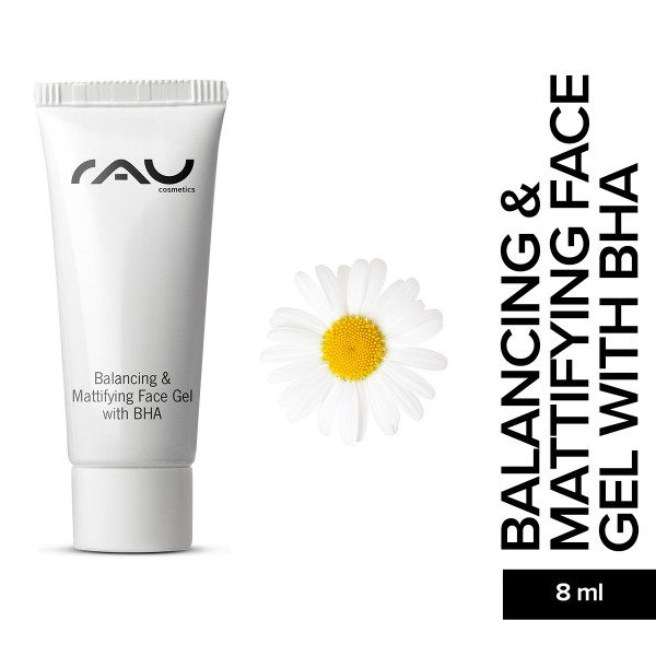 RAU Balancing And Mattifying Face Gel with BHA 8 ml Gesichtsgel Hautpflege Onlineshop Naturkosmetik