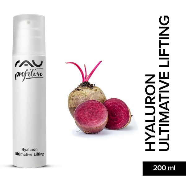 RAU Hyaluron Ultimative Lifting 200 ml Profiline Hautpflege Onlineshop Naturkosmetik