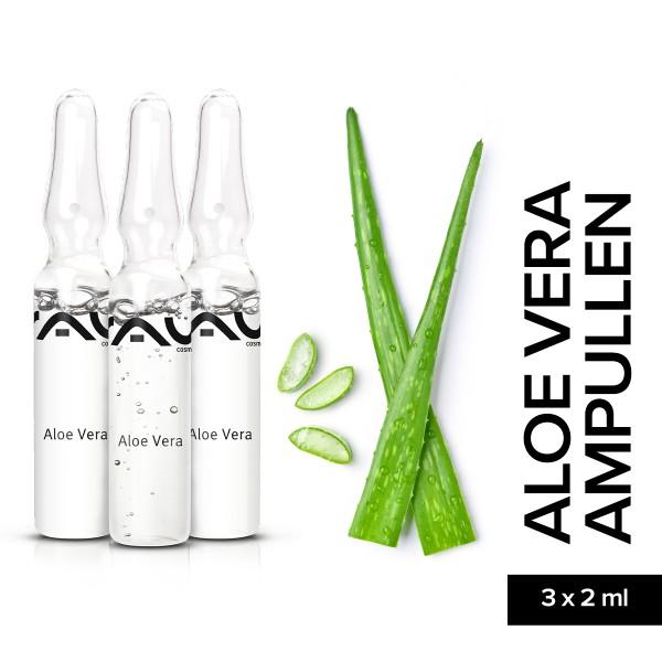 RAU Aloe Vera Ampullen 3 x 2 ml Hautpflege Gesichtspflege Onlineshop Naturkosmetik