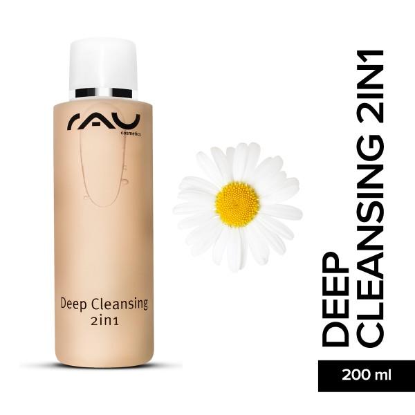 RAU Deep Cleansing 2in1 200 ml Tonisieren Reinigung Hautpflege Naturkosmetik Onlineshop