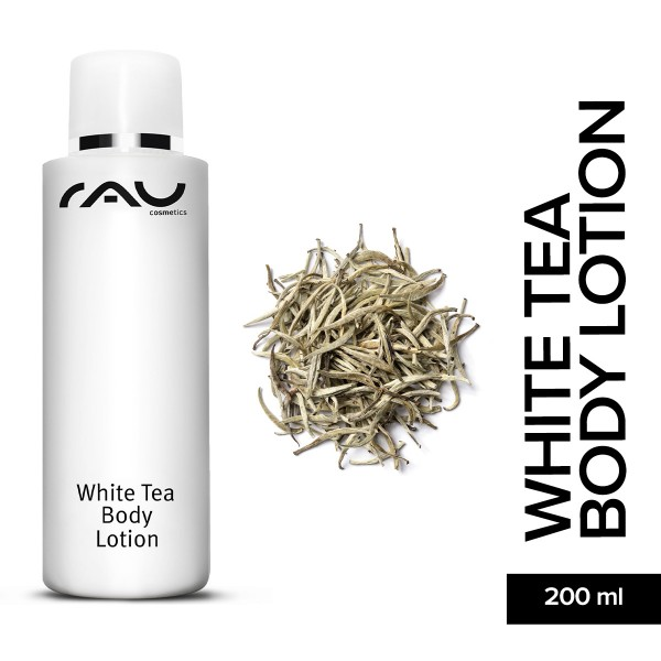 RAU White Body Lotion 200 ml Luxuspflege Hautpflege Onlineshop Naturkosmetik Gesichtspflege