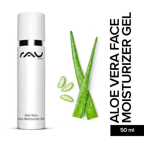 RAU Aloe Vera Face Moisturizer Gel 50 ml Hautpflege Gesichtspflege Naturkosmetik Onlineshop