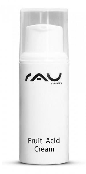 RAU Fruit Acid Cream 5 ml - mit Fruchtsäuren, Hyaluronsäure, Vitaminen & wertvollen Pflanzenölen