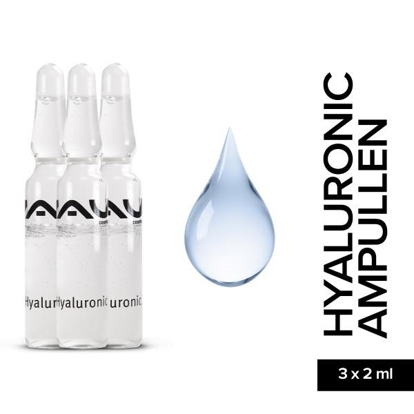 RAU Hyaluronic Ampullen 3 x 2 ml Hautpflege Onlineshop Gesichtspflege Naturkosmetik