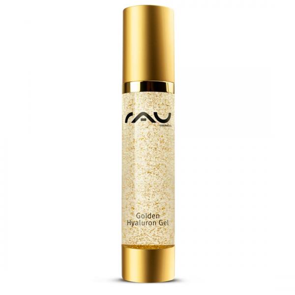 RAU Golden Gel 50 ml - der Höhepunkt der luxuriösen Hautpflege mit 14kt Gold, Jujube, Hyaluronsäure