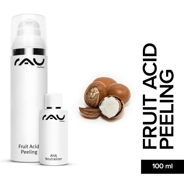 RAU Fruit Acid Peeling 100 ml Hautpflege Onlineshop Naturkosmetik Gesichtspflege