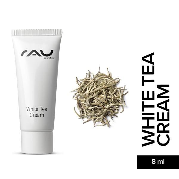 RAU White Tea Cream 8 ml Hautpflege Gesichtspflege Weißer Tee Aloe Vera Anti Aging Onlineshop