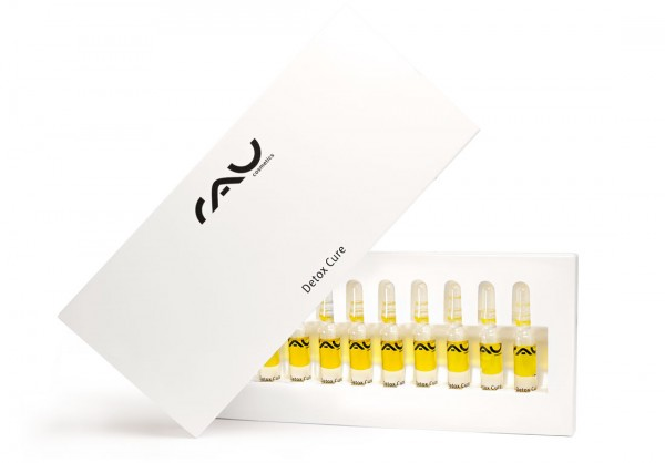 RAU Detox Cure Ampullen 10 Stück x 2 ml - zur Entgiftung der Haut