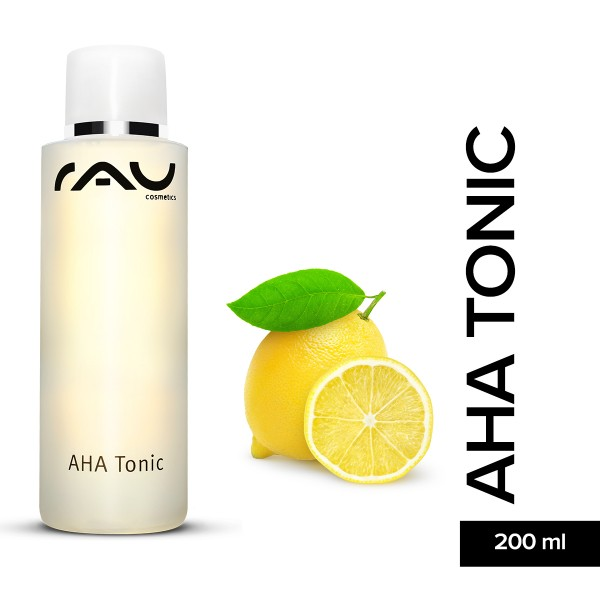 RAU Aha Tonic 200 ml Fruchtsäure Hautpflege Naturkosmetik Onlineshop Gesichtspflege