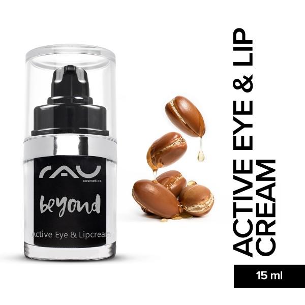RAU beyond active eye and lip cream 15 ml Hautpflege Gesichtspflege Naturkosmetik Onlineshop