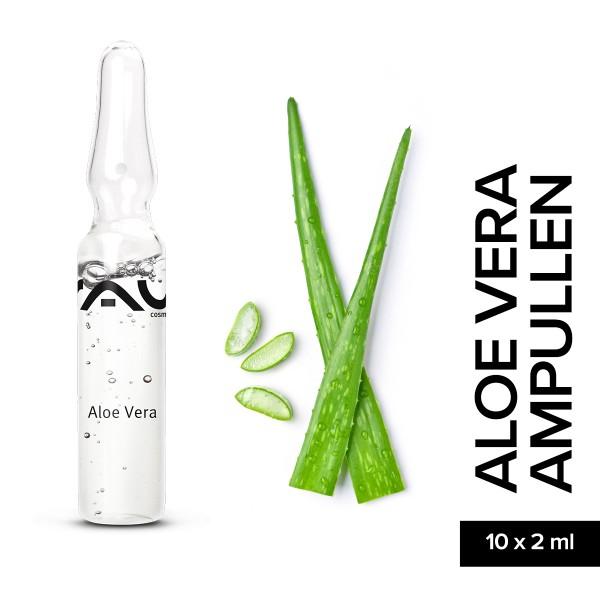RAU Aloe Vera Ampullen 10 x 2 ml Hautpflege Gesichtspflege Naturkosmetik Onlineshop