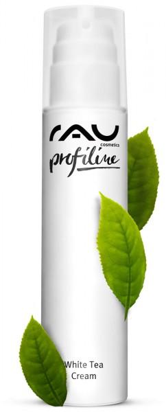 RAU White Tea Cream 200 ml PROFILINE - Kabinenware - zarte 24h Creme mit Weißem Tee & Aloe Vera