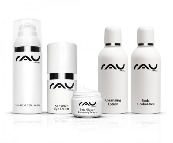 RAU Cosmetics Pflege-Set für jugendliche/sensible Haut: Sensitive Produkte & Reinigung