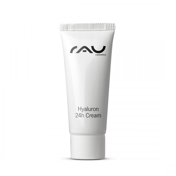 RAU Hyaluron 24h Cream 8 ml - Creme mit Hyaluronsäure, Sheabutter, Avocadoöl & Squalane